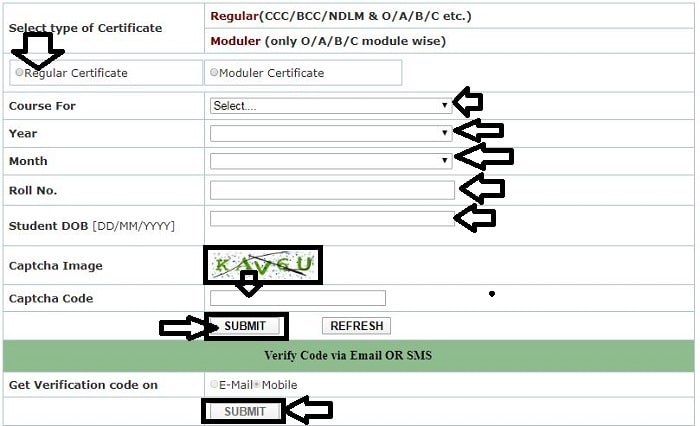 How to Download Ccc Certificate। Ccc Certificate