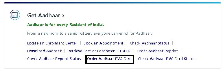 PVC Aadhaar Card Kaise Online Apply Kare In Hindi